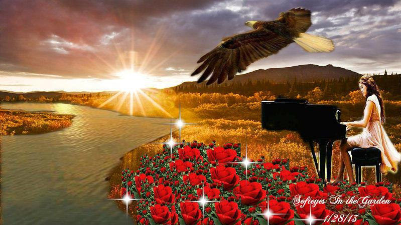 Beautiful Melody Digital Art