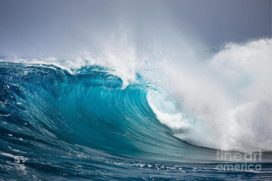 Beautiful Ocean Wave Photograph
