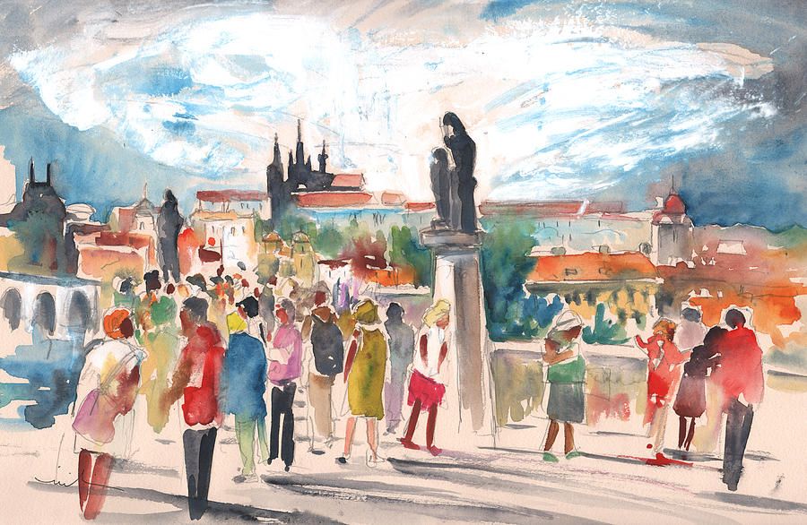 Beautiful Prague Painting