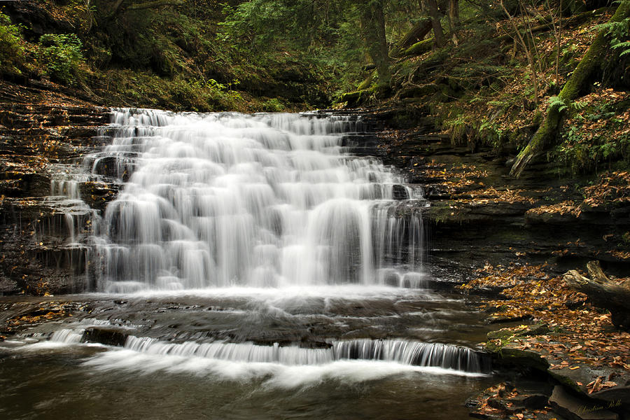 Beauty Falls Photograph  - Beauty Falls Fine Art Print