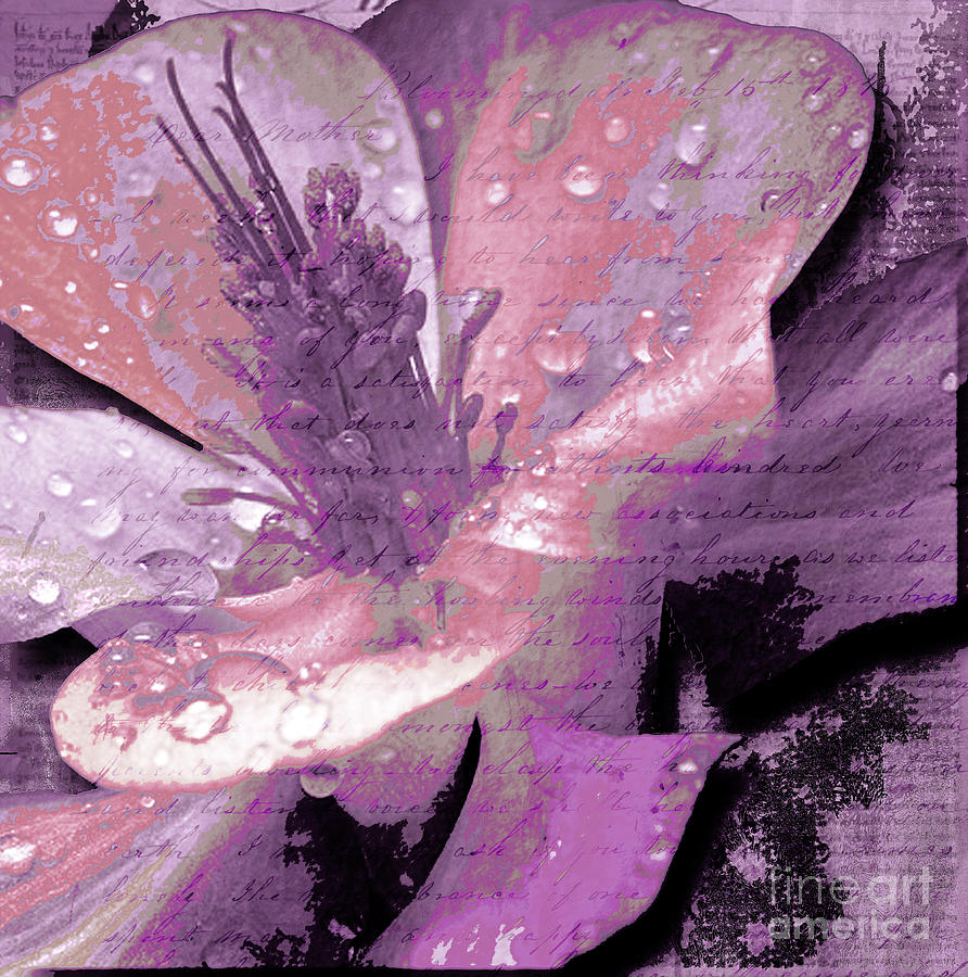 Beauty Ix Mixed Media  - Beauty Ix Fine Art Print