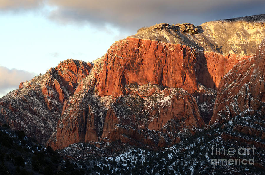 Beauty Of Kolob Canyon  Photograph