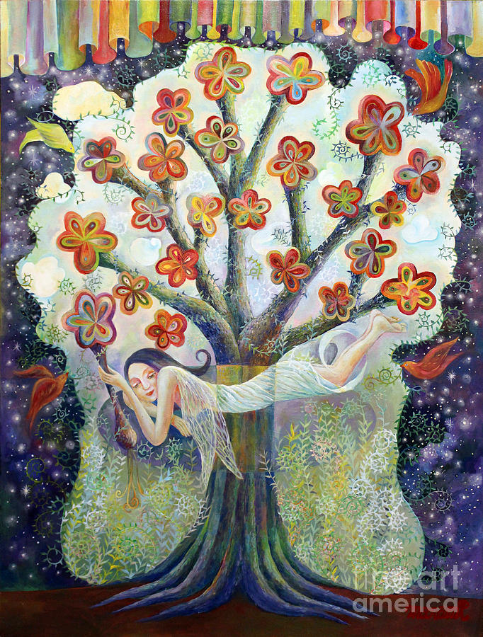 Beauty Of Tree Painting