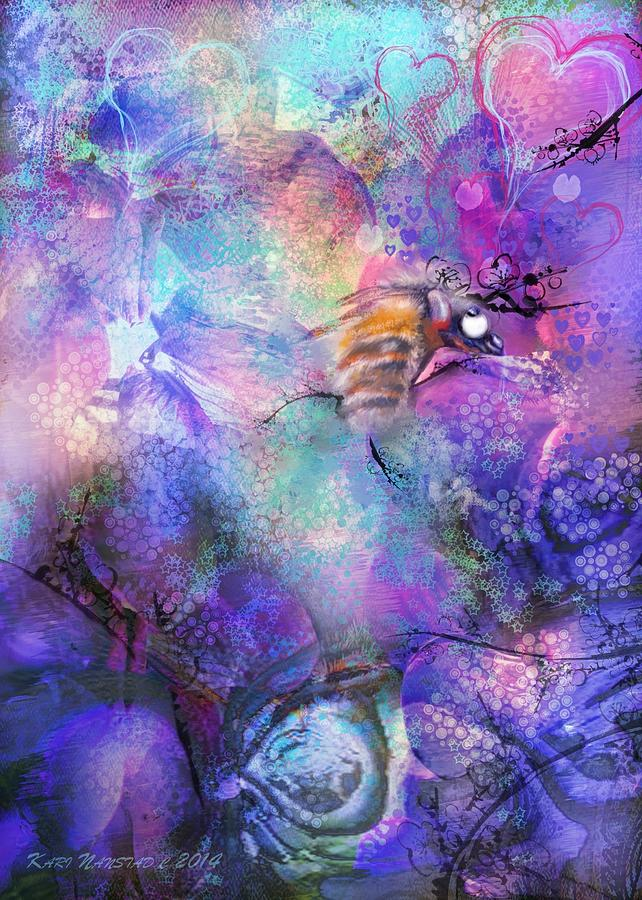 Bee Dazzled Digital Art