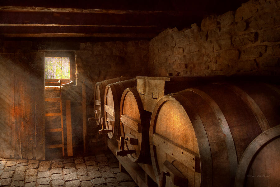 Wine Photograph - Beer Maker - The Brewmasters Basement by Mike Savad
