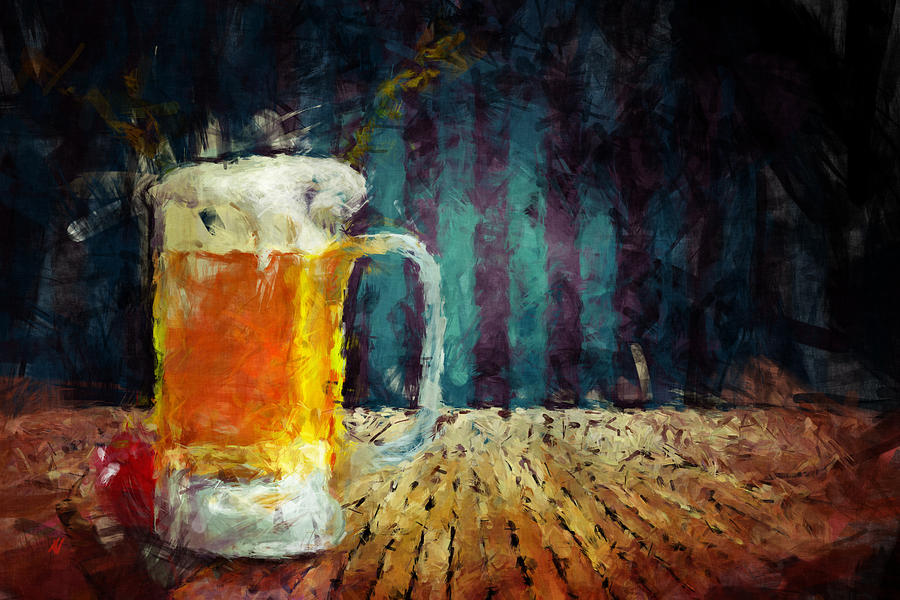 Beer Time Painting