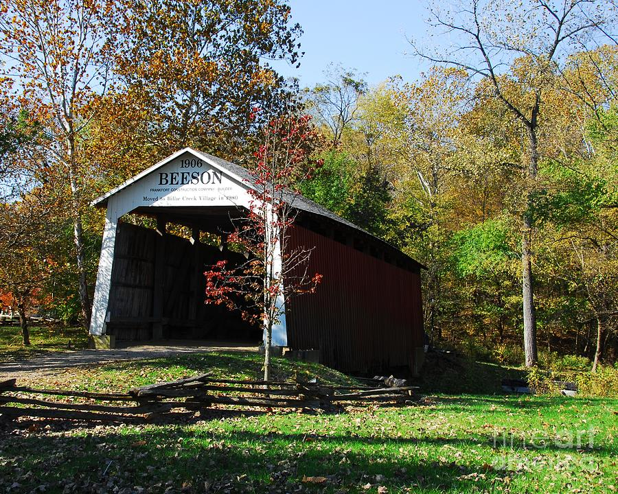 Beeson Covered Bridge 2 Photograph