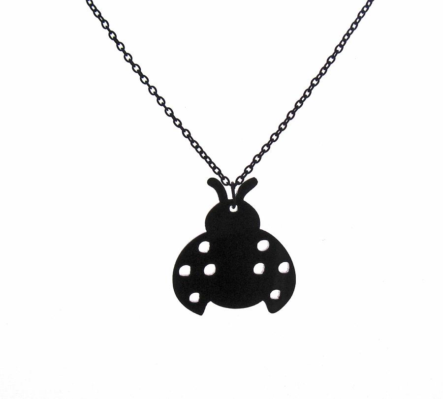 Beetle Pendant Necklace Jewelry