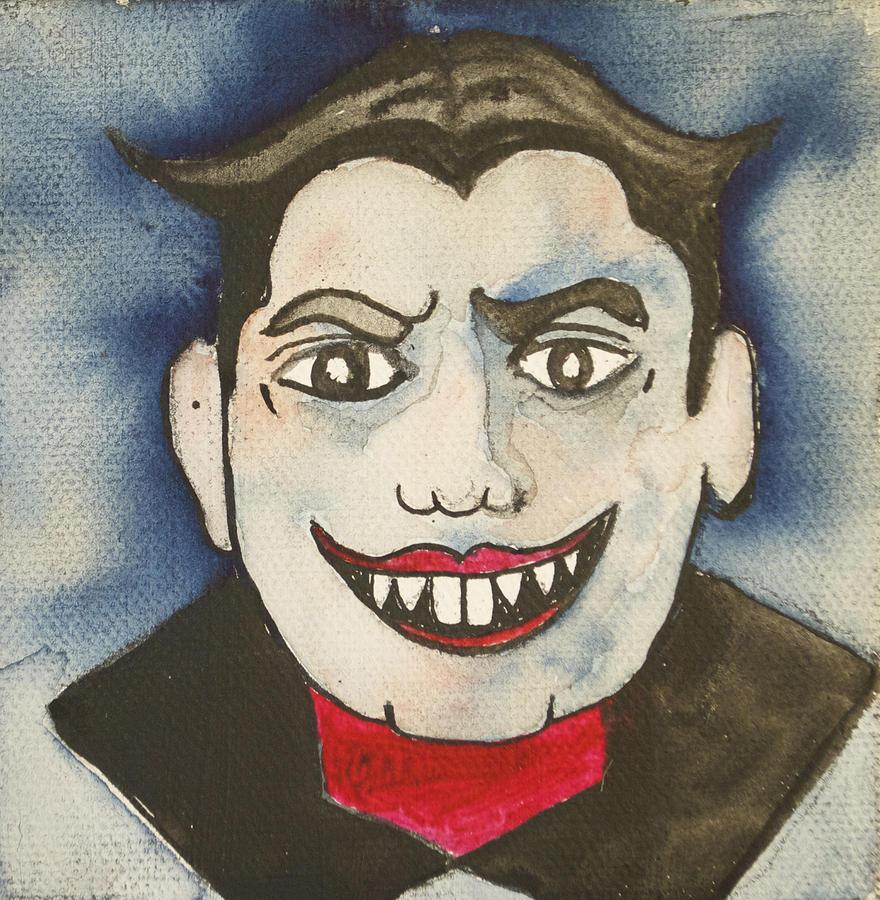 Bela Lugosi As Tillie Painting