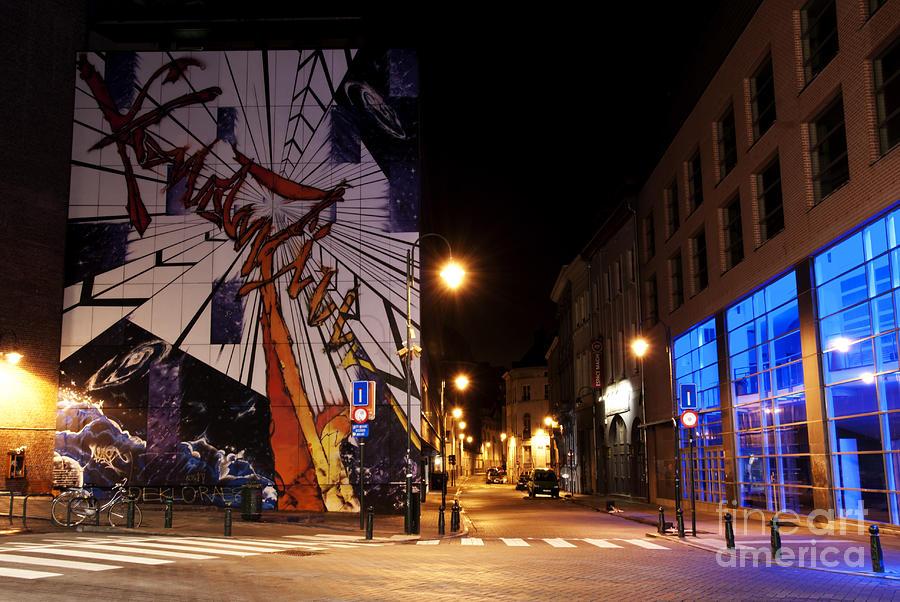 Belgium Street Art Photograph