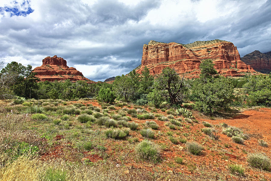 Bell Rock At Sedona Az. Photograph