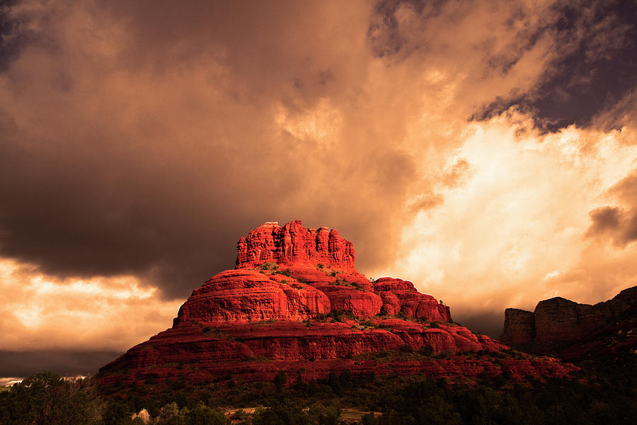 Bell Rock Photograph - Bell Rock by Tom Kelly