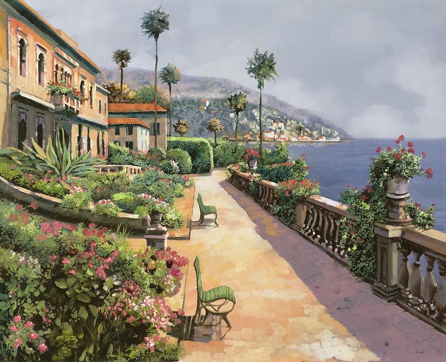 Painting - Bella Amalfi by Guido Borelli
