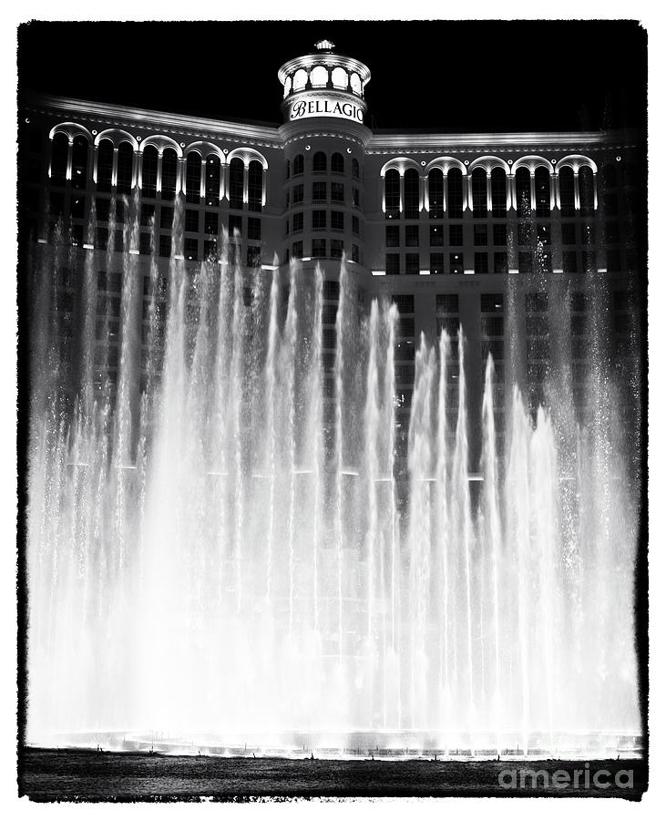 Bellagio Fountains I Photograph  - Bellagio Fountains I Fine Art Print