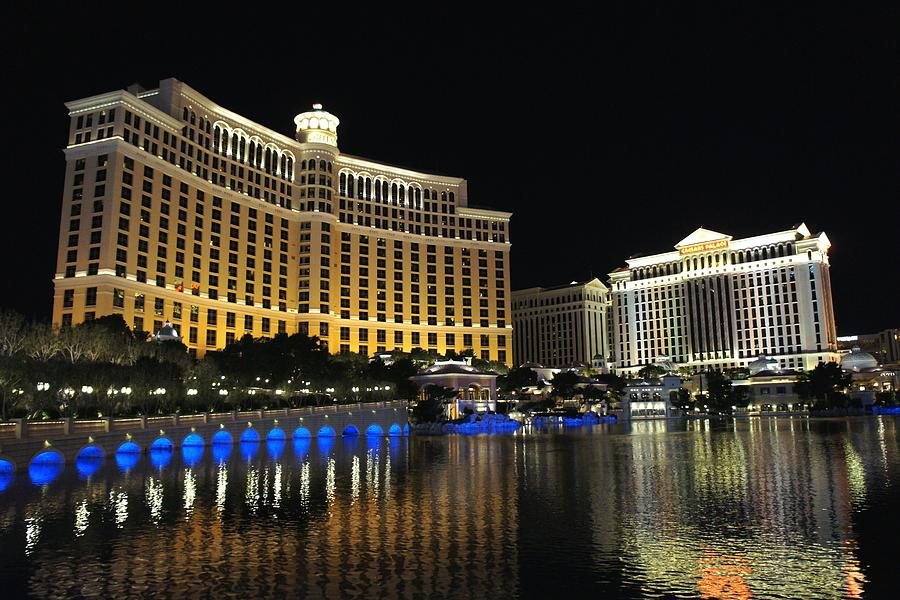 Bellagio Nights 2 Photograph