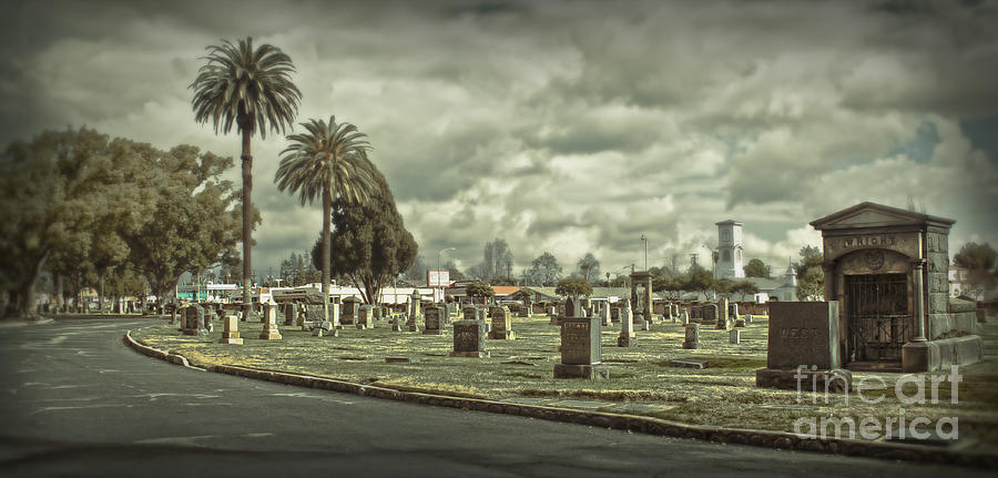 Bellevue Photograph - Bellevue Cemetery Crypt - 02 by Gregory Dyer