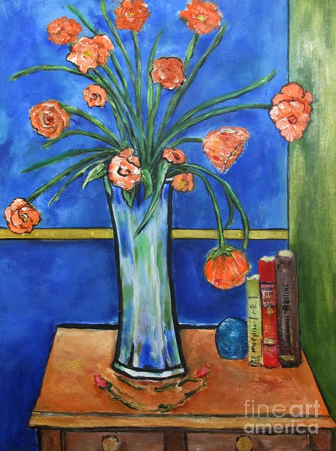 Floral Painting - Bellini by Chaline Ouellet
