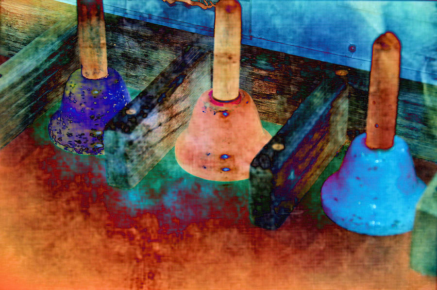Still Life Photograph - Bells by Jan Amiss Photography