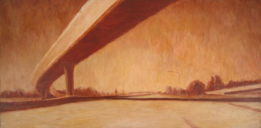 Landscape Painting - Belmont by Jeff Levitch