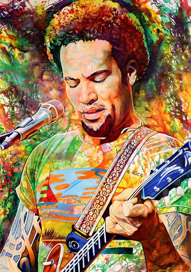 Ben Harper 2012 Painting
