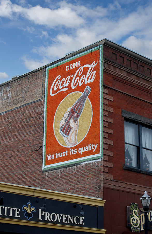 Bend Oregon Coke Sign Photograph
