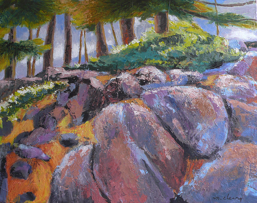 bend oregon landscape painting by melody cleary