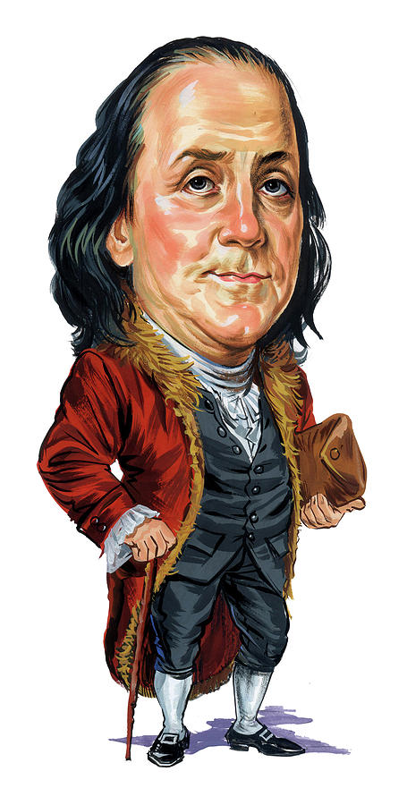 Benjamin Franklin Painting