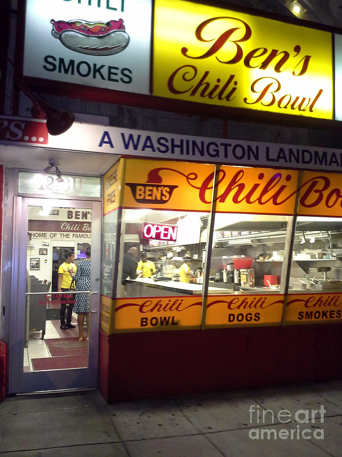 Bens Chili Bowl Photograph