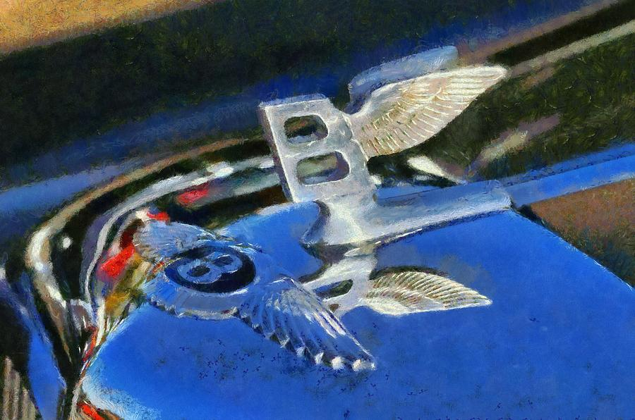 Bentley S1 1956 Badge Painting