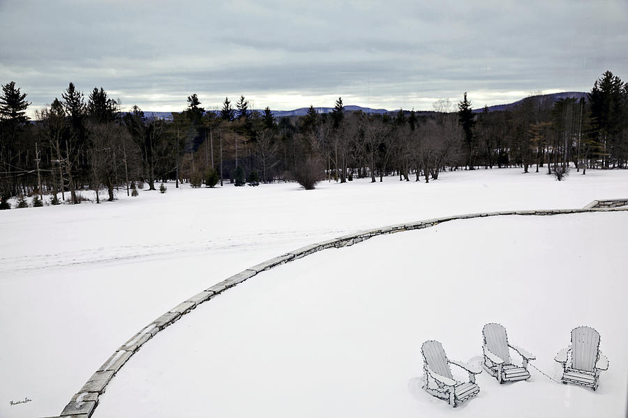 Berkshires Winter 2 - Massachusetts Photograph
