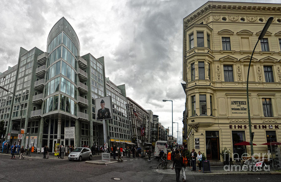 Berlin - Checkpoint Charlie Photograph