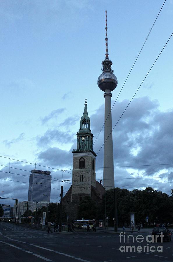 Berlin - Berliner Fernsehturm - Radio Tower No.01 Photograph