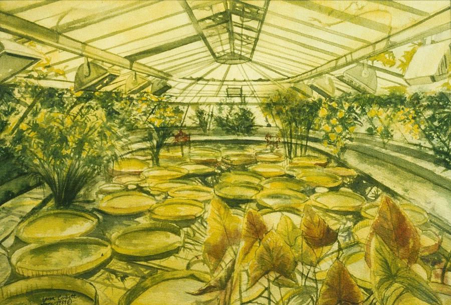 Berlin Botanical Garden Painting