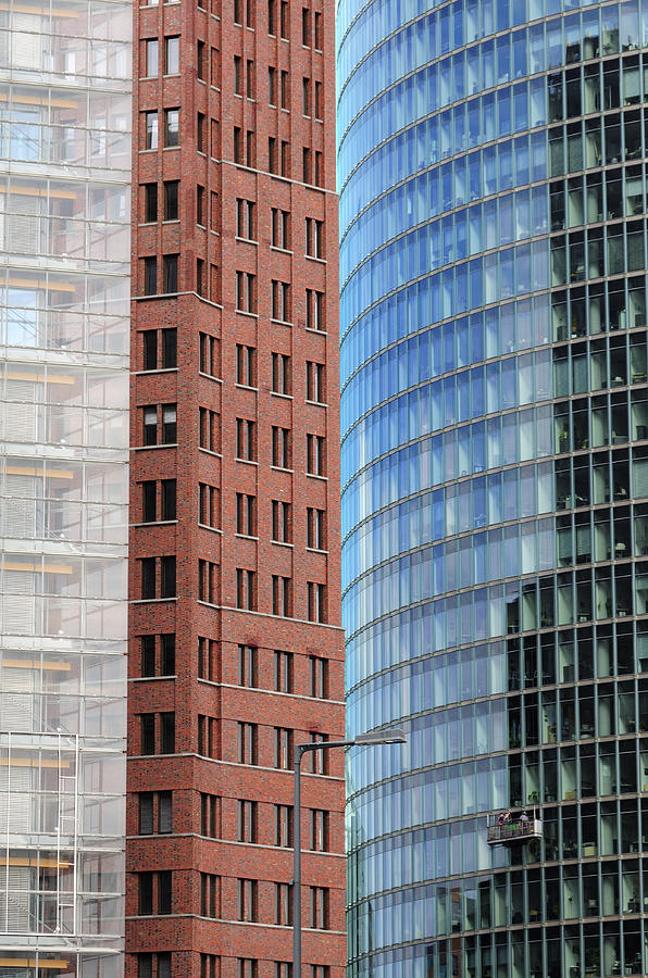 Berlin Buildings Detail Photograph by Matthias Hauser