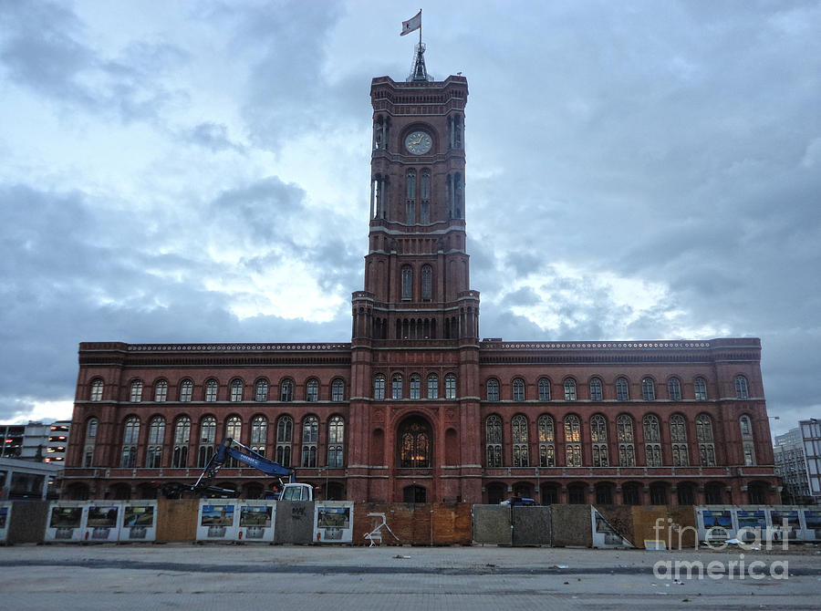 Berlin - City Hall Photograph