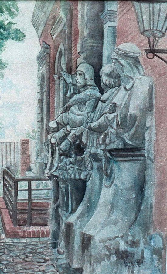 Berlin Painting - Berlin History Sculptures by Leisa Shannon Corbett