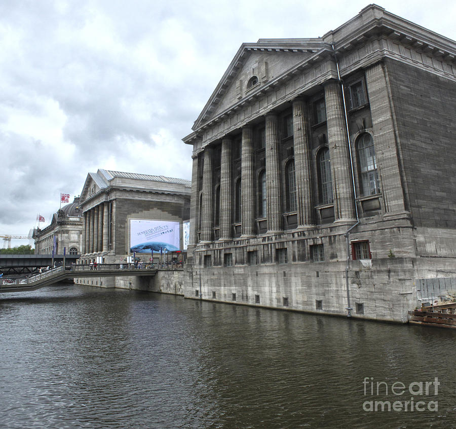 Berlin - Pergamon Museum - No.04 Photograph  - Berlin - Pergamon Museum - No.04 Fine Art Print