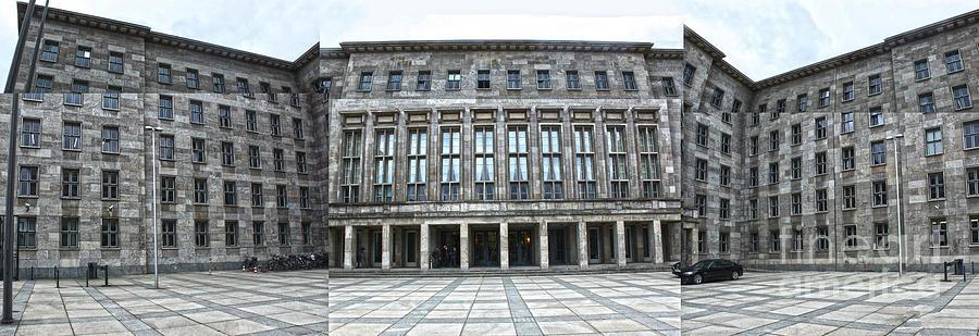 Berlin Photograph - Berlin - Ss Headquarters by Gregory Dyer