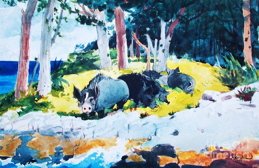 Bermuda  Settlers Painting