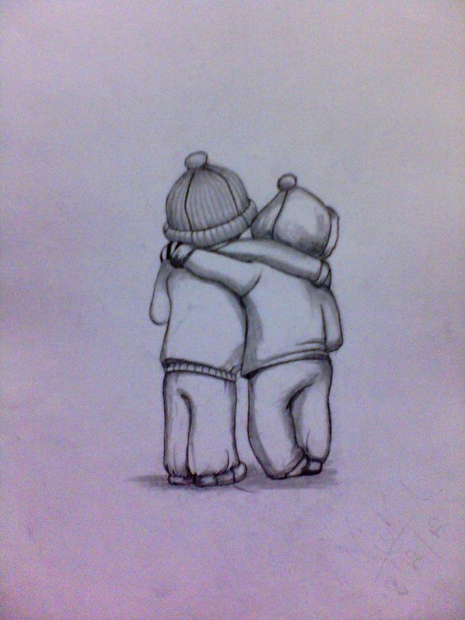Friendship Drawings Framed Prints, Friendship Drawings Framed Art ...