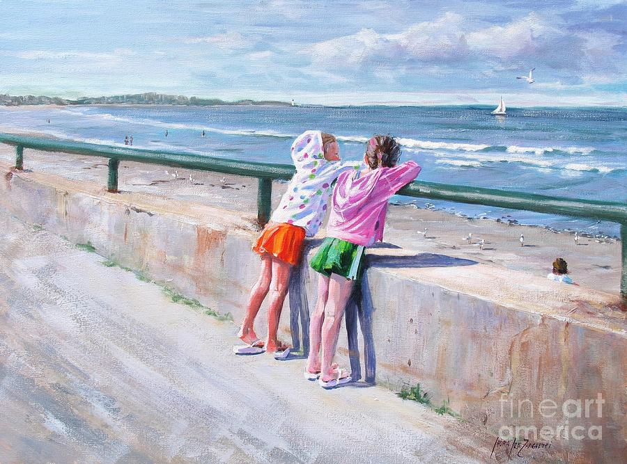 Best Friends Painting  - Best Friends Fine Art Print