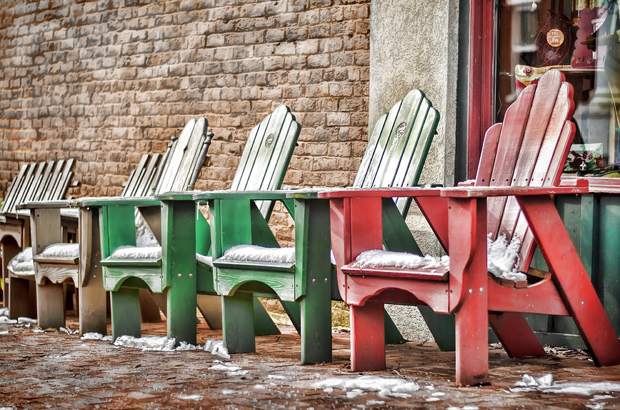 Best Seats In Town Photograph  - Best Seats In Town Fine Art Print