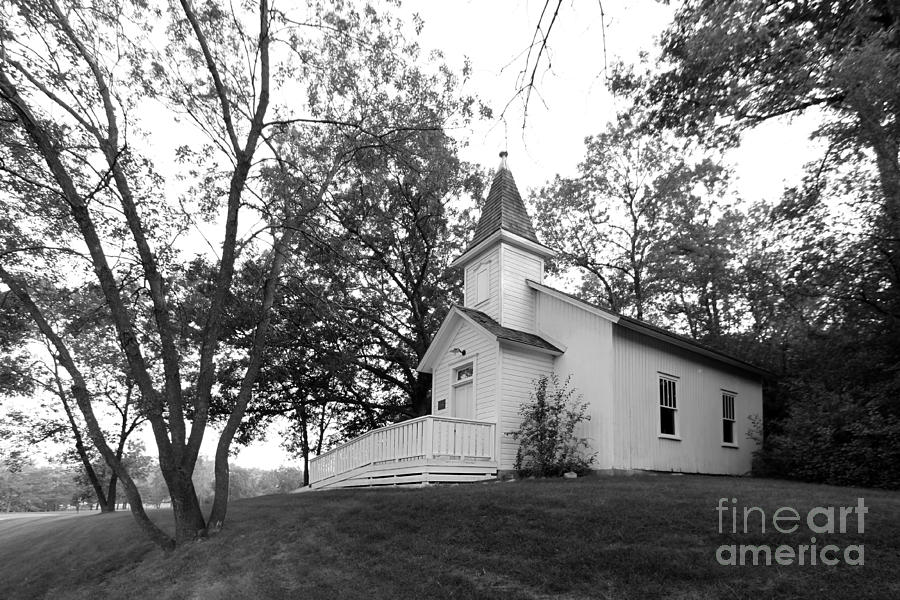 Bethel University Scandia Church Photograph  - Bethel University Scandia Church Fine Art Print