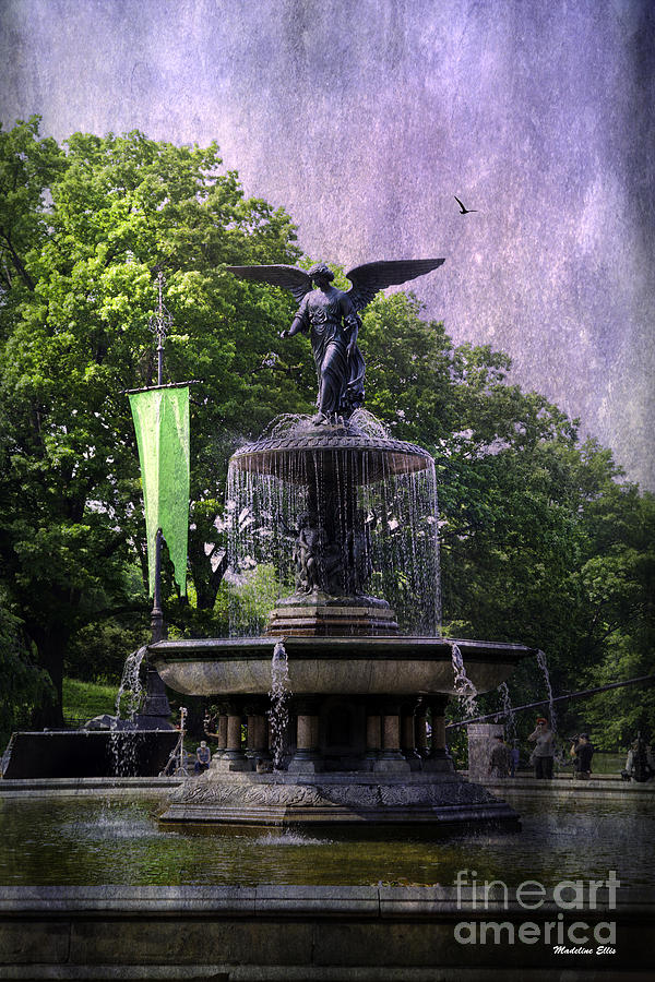 Bethesda Fountain Photograph  - Bethesda Fountain Fine Art Print