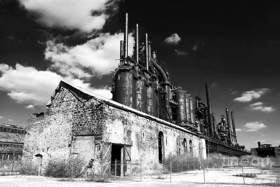 Bethlehem Steel Photograph - Bethlehem Steel by John Rizzuto