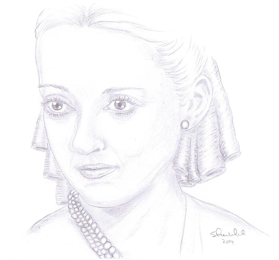 Bette Davis Drawing