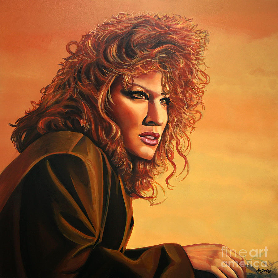 Bette Midler Painting