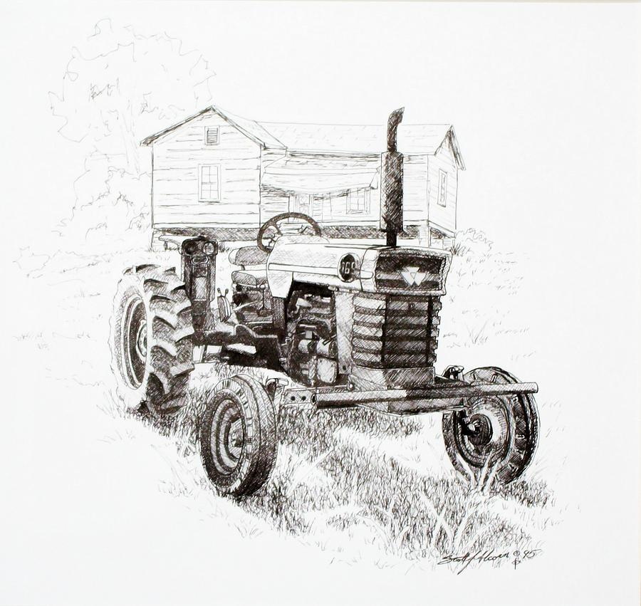 better days drawing by scott alcorn
