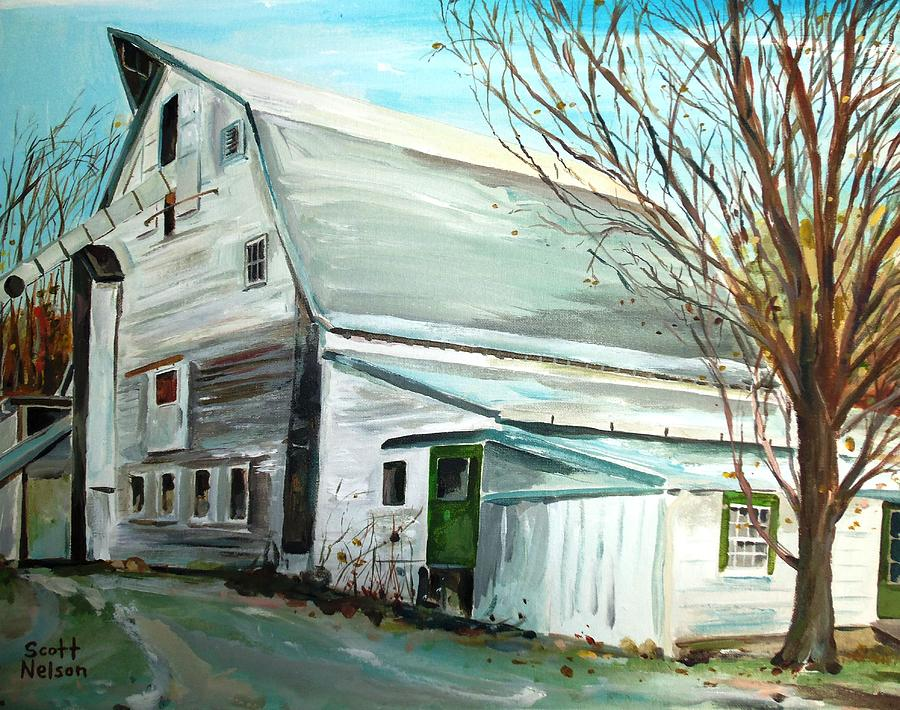 Millbury Ma Painting - Better Days by Scott Nelson