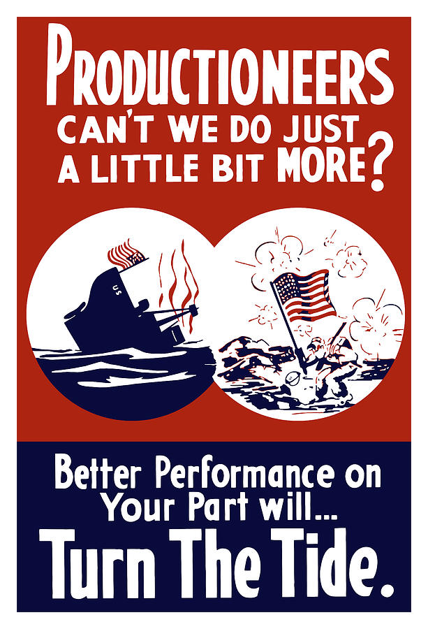 Better Performance On Your Part Will Turn The Tide Painting